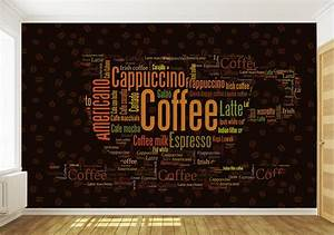 wallpaper custom picture more detailed picture about With coffee letters for wall
