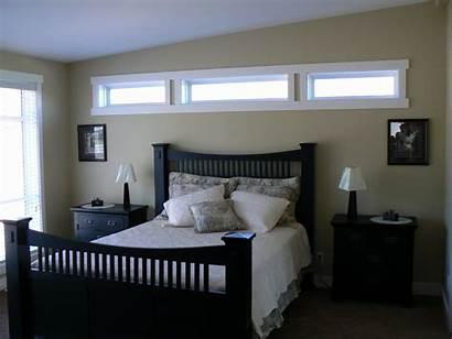 Transom Windows Bedroom Wall Interior Fixed Master
