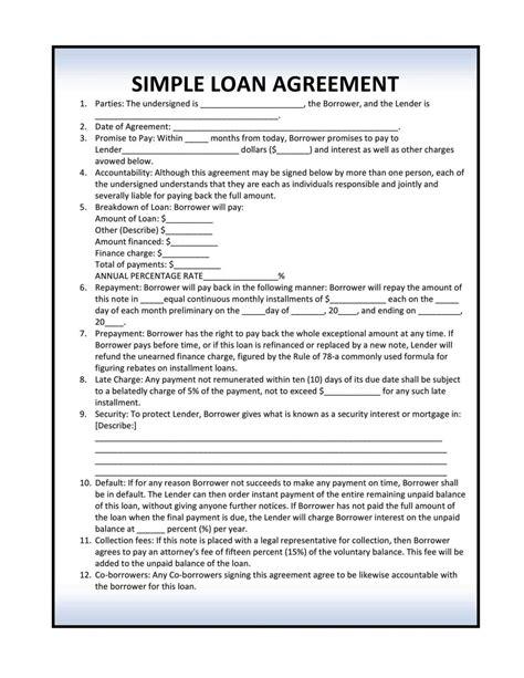 installment loan agreement template sampletemplatess