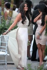 Khloe Kardashian was a bridesmaid at the wedding of ...
