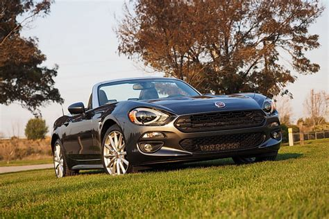 2018 Fiat 124 Spider Opentop Fun, Italian Style [review