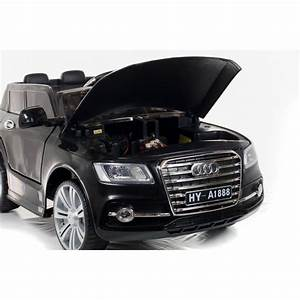 Voiture Electrique Bebe Audi : suv style q7 12v noir voiture electrique pour enfants ~ Dallasstarsshop.com Idées de Décoration
