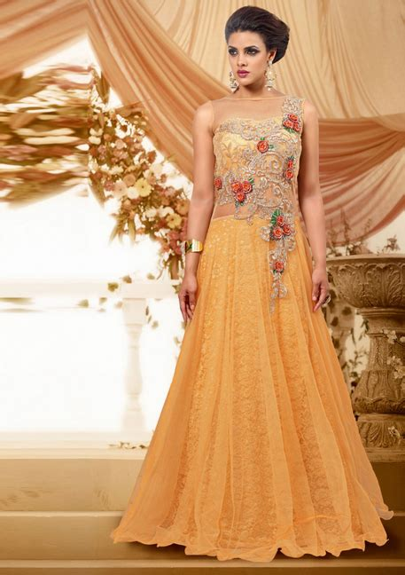 Light Pink Formal Dresses by Indian Maxi Dresses For Weddings 2017 Designs Collection