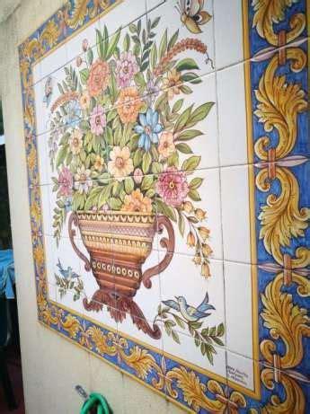 vendo painel de azulejos bonitos lumiar imagem
