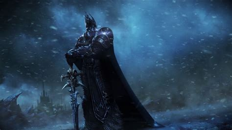 Animated Lich King Wallpaper - wow arthas lich king wotlk hq wallpaper engine