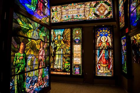 magnificent obsession morphs   stained glass museum
