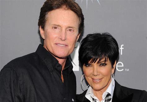 Kris Jenner E Bruce Jenner Oficializam O Divórcio