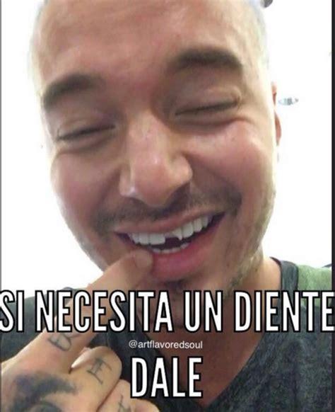 J Meme - memes j balvin sin diente 161 los memes se solidarizan por el diente roto de j balvin