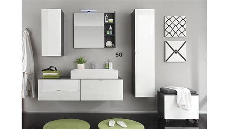 badezimmer set grau badezimmer set wei 223 hochglanz grau mit waschbecken