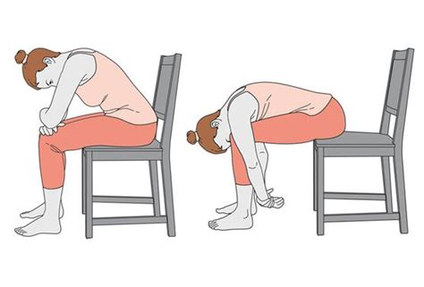 Trois Exercices De Yoga Sur Une Chaise Pour Mieux Dormir