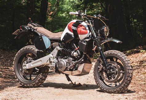 "Yamaha ""mt660"" Scrambler By Rh Motorcycles"
