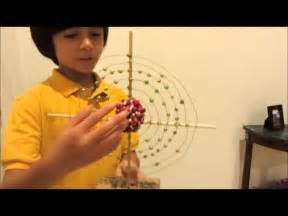 3D Atom Model Science Project