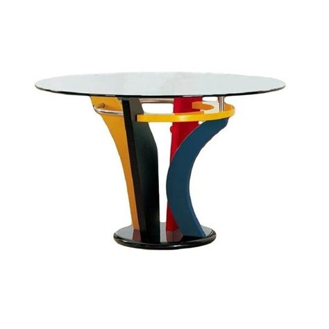 multi coloured table l global furniture usa neville casual multi color dining