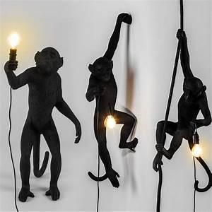 Seletti Monkey Lamp : seletti black outdoor monkey lamps seletti designer italian monkey outdoor ebay ~ Buech-reservation.com Haus und Dekorationen