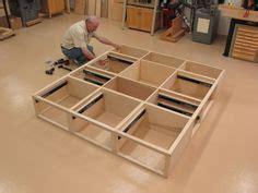 platform bed  drawers diy diy platform bed