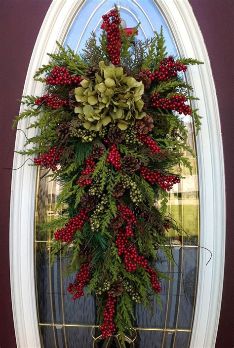 christmas wreath winter wreath holiday by