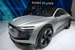 Audi Aicon and Elaine concepts at 2017 Frankfurt motor ...