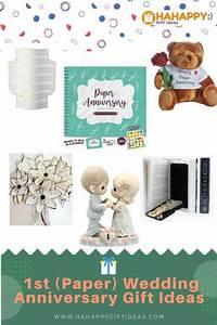 Romantic 1st Paper Wedding Anniversary Gift Ideas