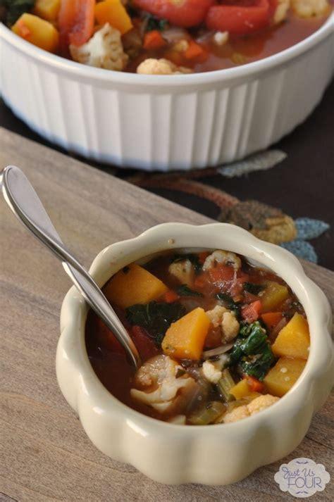 Vegetable Quinoa Soup: Progressive Thanksgiving Dinner