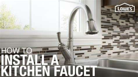 To Uninstall A Kitchen Faucet by How To Install A Kitchen Faucet