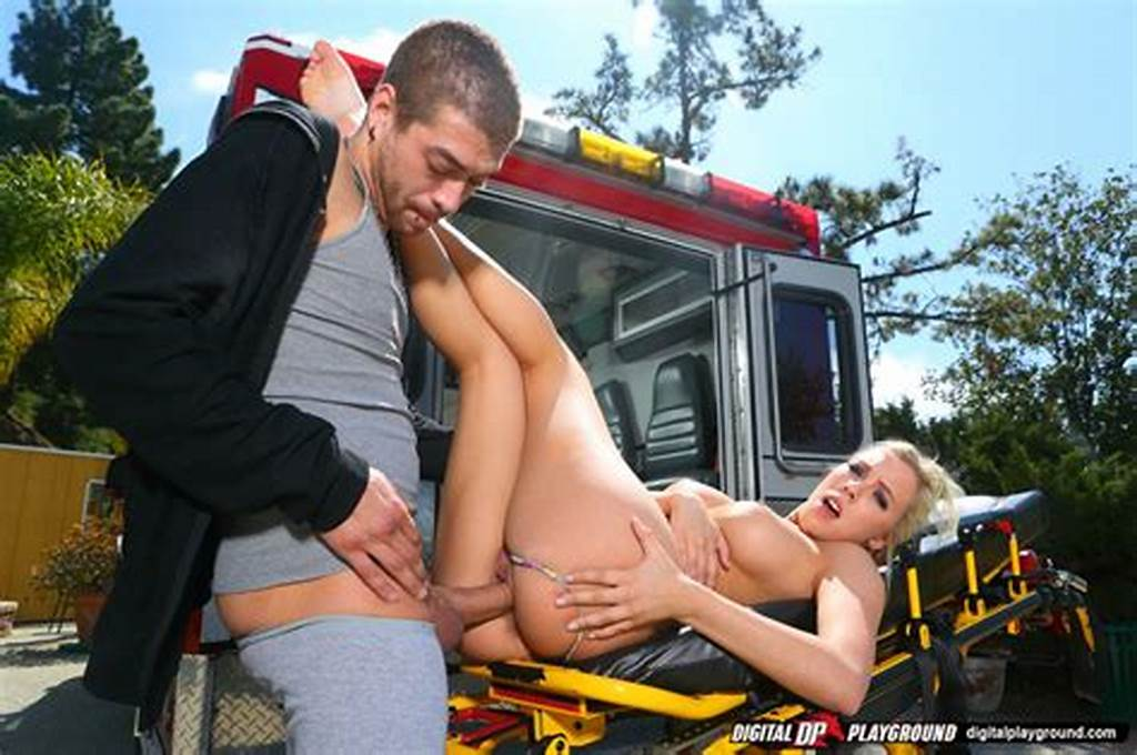 #Stunning #Ambulance #Nurse #Gives #A #Special #Treatment #To #Her