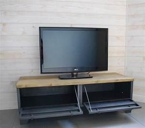 Meuble Tele Bas : meuble bas tele meuble t l bas laqu design meuble bas tele meuble bas t l id es de d coration ~ Teatrodelosmanantiales.com Idées de Décoration