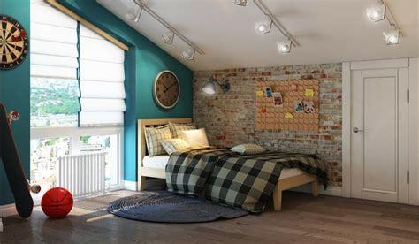 sport en chambre x mur en brique pour chambre enfant