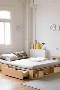 Lit Pour Adulte : o trouver votre lit avec tiroir de rangement ~ Teatrodelosmanantiales.com Idées de Décoration