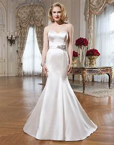 gorgeous satin mermaid wedding dresses cherry marry With satin mermaid wedding dress
