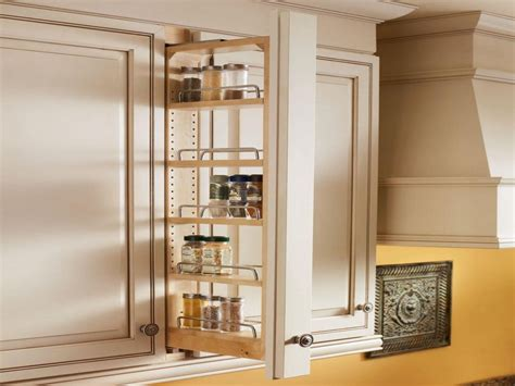 Narrow Pull Out Spice Rack by Kitchen Shelf Storage Racks Cabinet Pull Out Spice