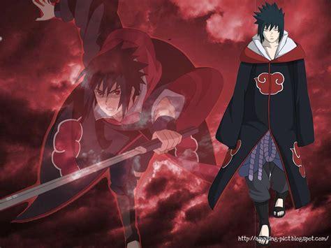 Uchiha Sasuke Akatsuki Team Amazing Picture