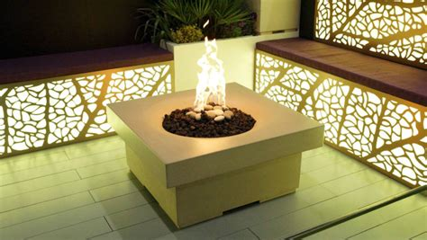 solus decor turn up the heat with a stylish pit
