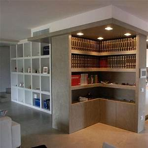 Librerie in cartongesso (Foto) Design Mag