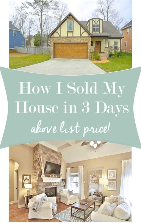 Decorating Ideas To Sell Your House by How I Sold My House In 3 Days Above List Price Home