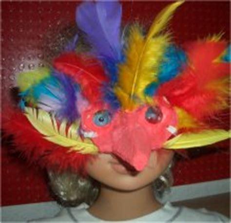 vogelmaske basteln im kidswebde