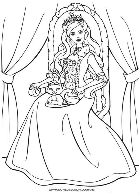 disegni da stare principessa barbie principessa 28 disegni da colorare dei