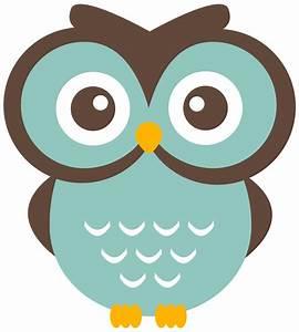Teal Owl Clipart