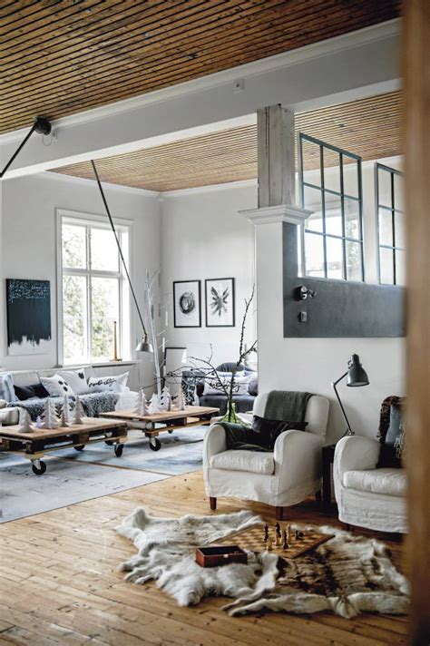 scandinavian home interiors scandinavian chic house with rustic and vintage features