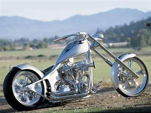 Silver Chopper   Cool Motorcycles and Choppers   Pinterest