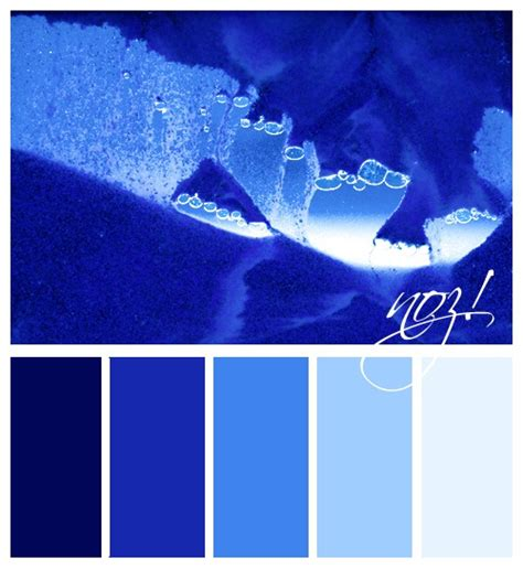 color palette ice blue colour pinterest colors