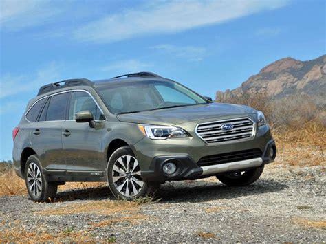 subaru outback crossover suv review autobytelcom