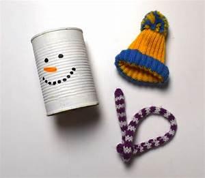 Filzstifte Für Kinder : weihnachtsbasteln schneemann dose ~ Markanthonyermac.com Haus und Dekorationen