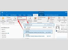 How to create a search folder from Inbox only in Outlook?