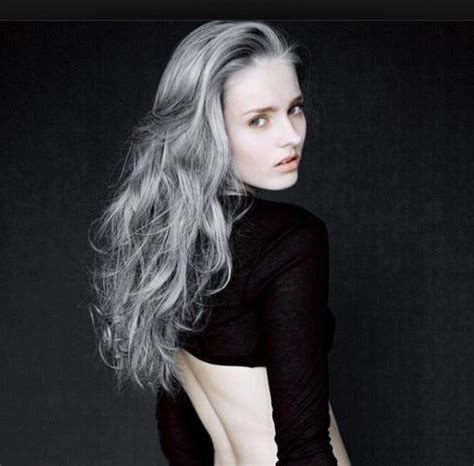 Gray hair colors for all hair types in 2020-2021 - HAIRSTYLES