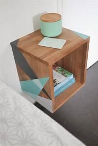 Table De Nuit : paris la r union table de nuit graphique three ~ Dallasstarsshop.com Idées de Décoration