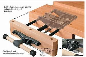Quick Release Woodworking Bench Vice PDF Woodworking