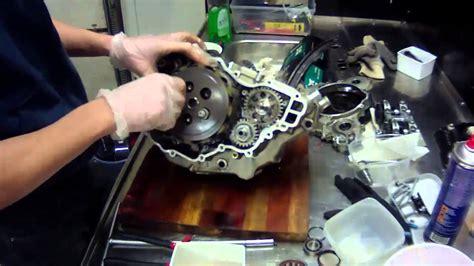 ktm  sxf engine rebuild youtube
