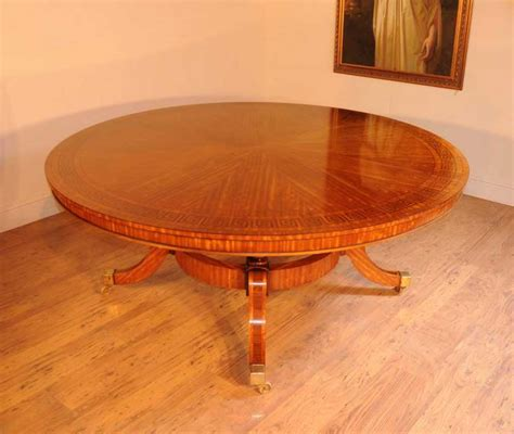 yoyo centre table dining table satinwood regency dining table centre tables inlay