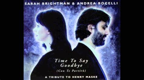 Con Te Partiro, Andrea Bocelli And Sarah Brightman