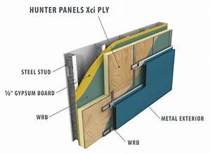 Hunter XCi Ply Polyiso Plywood Faced Wall Panel - GIC